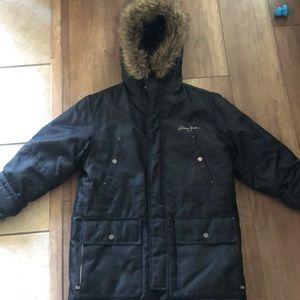 Sean John fur hood jacket